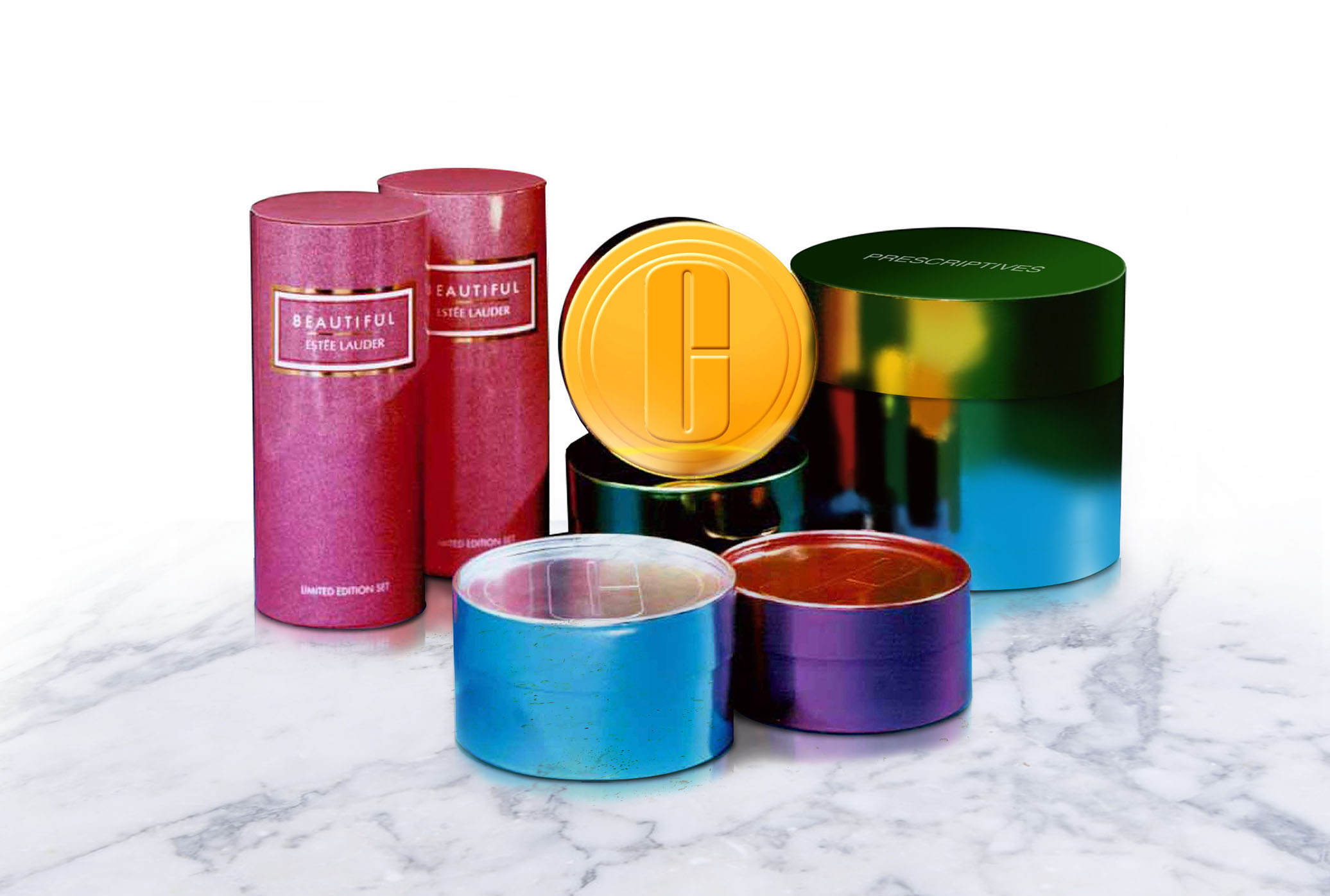 Estée Lauder, Clinique, and Beautiful tube packaging - IBC Shell