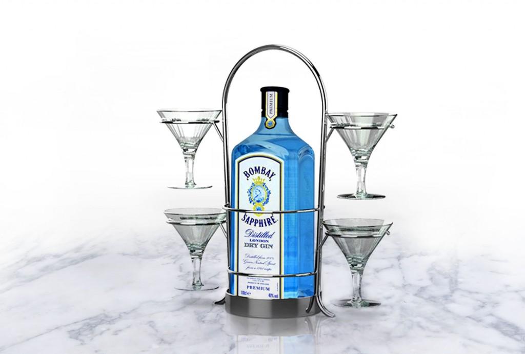 019 Bombay Sapphire Martini Tree Ibc Shell